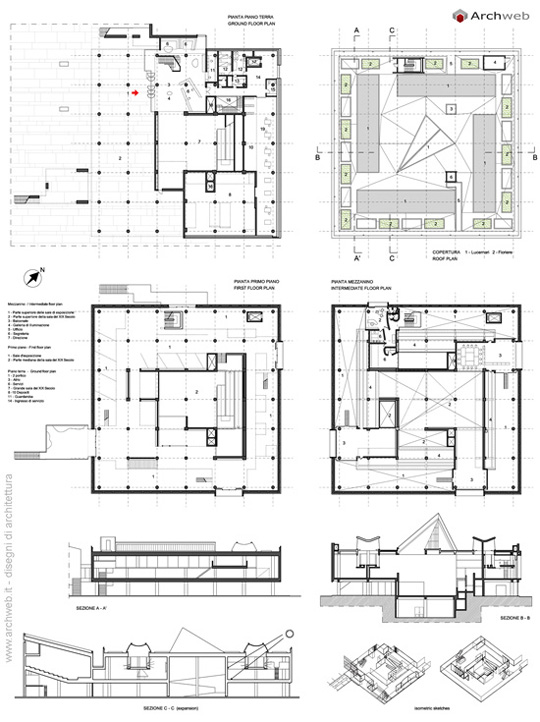 Villa Savoye Floor Plan Dwg >> National Museum of Western Art Tokyo plans
