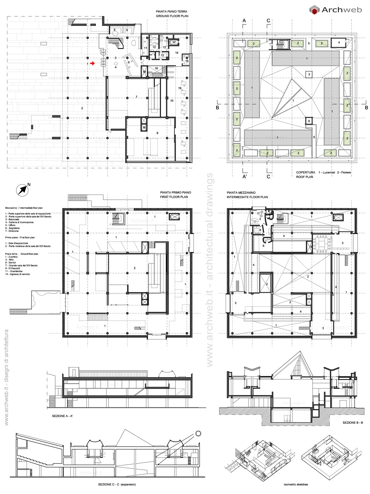 National Museum Of Western Art Tokyo Drawings Plans