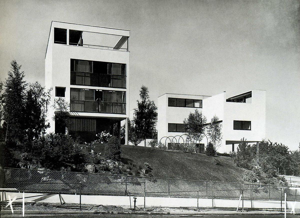 Maison double weissenhof 1927 photos - Le corbusier casas ...