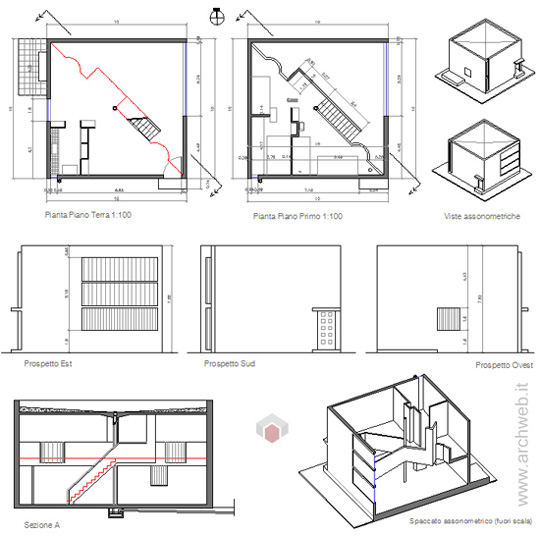 Case per artigiani 2d maison en seres for Casa di design artigiano