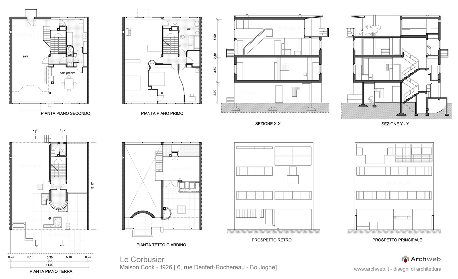 Maison cook drawings plan for Le plan d une maison