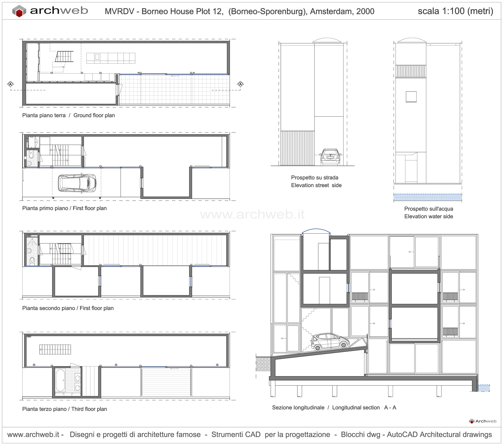 MVRDV Plot 12 house drawings plan