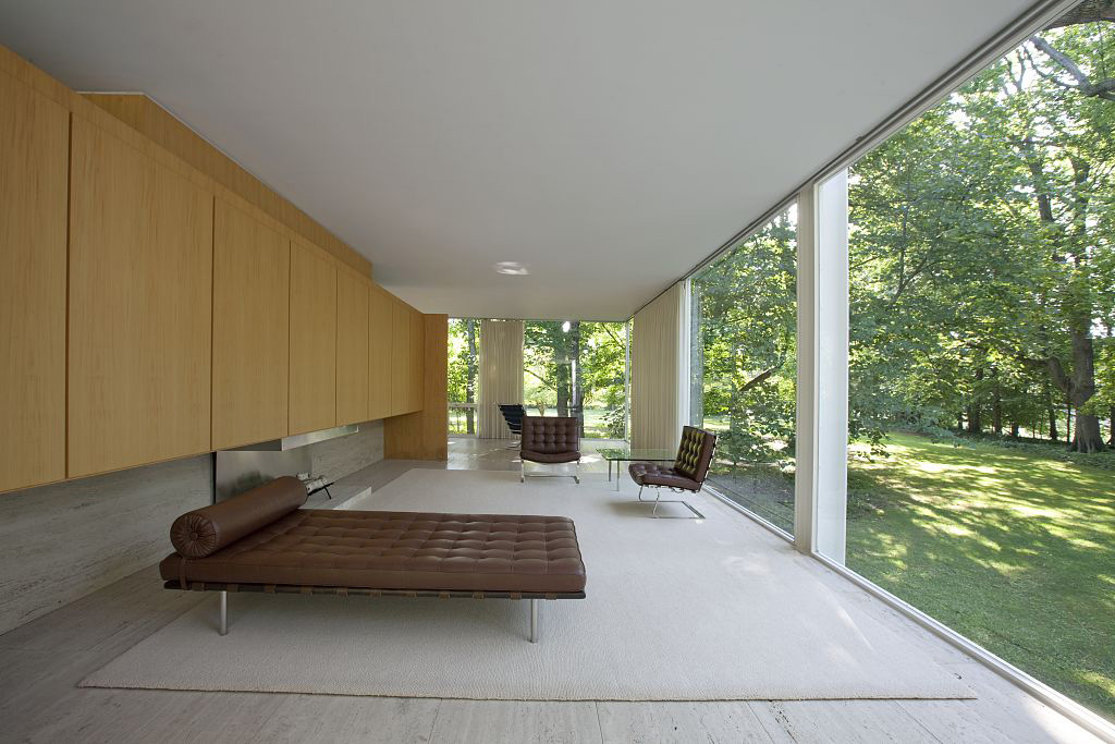 Farnsworth house dwg 2d for Archweb arredi