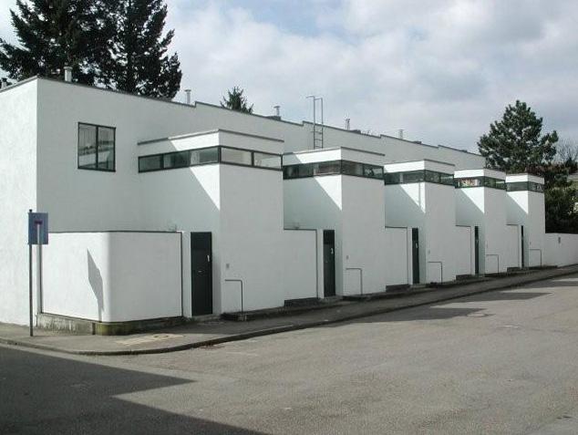 Pieter oud weissenhof house photos for Houseplans vivente del sud