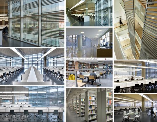 Biblioteca de deusto fotografie for Arredi esterni dwg