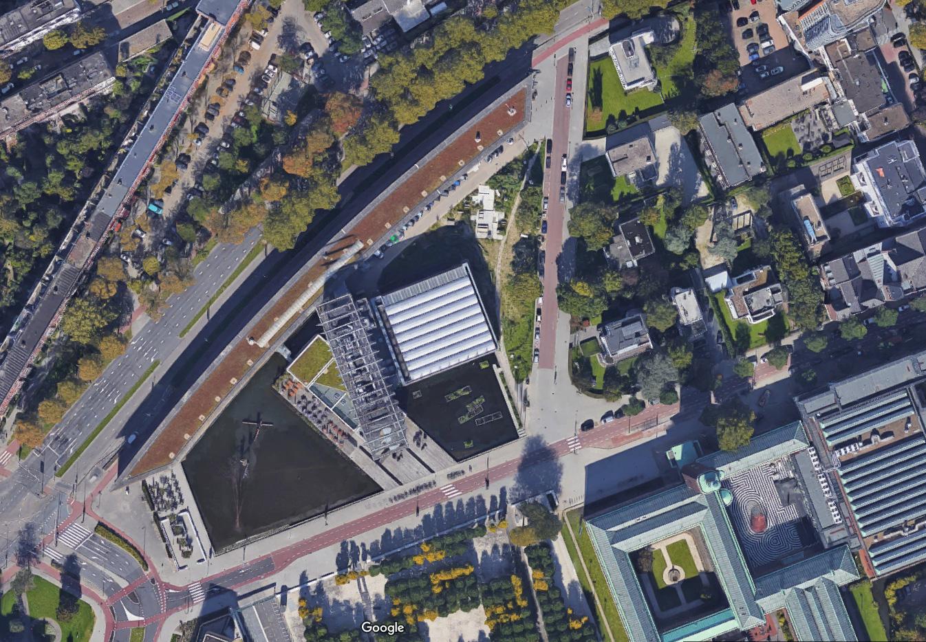 Architektuur instituut aerial 0 for Architettura olandese