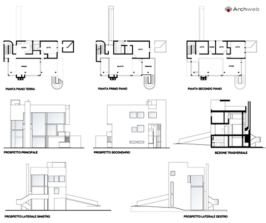 Richard Meier Saltzman House Plans | Home Interior Design