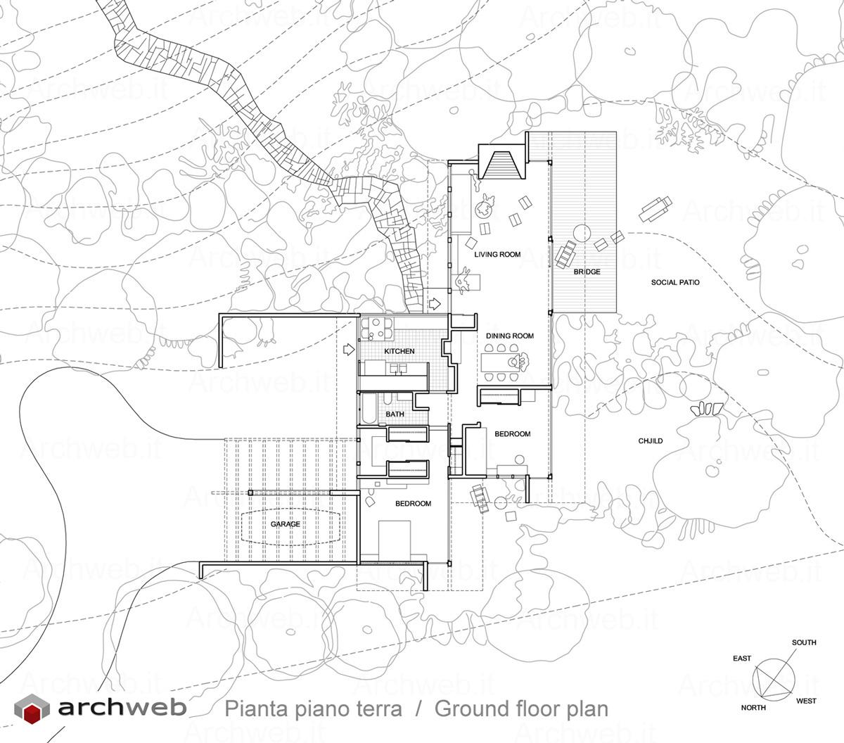 Neutra2 floorplans pinterest for Case study houses floor plans