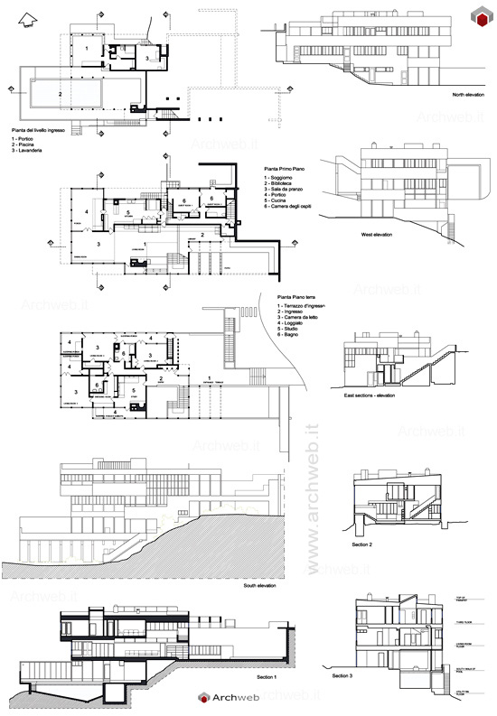 Richard Neutra Vdl  Mcm    Richard Neutra Site Plans