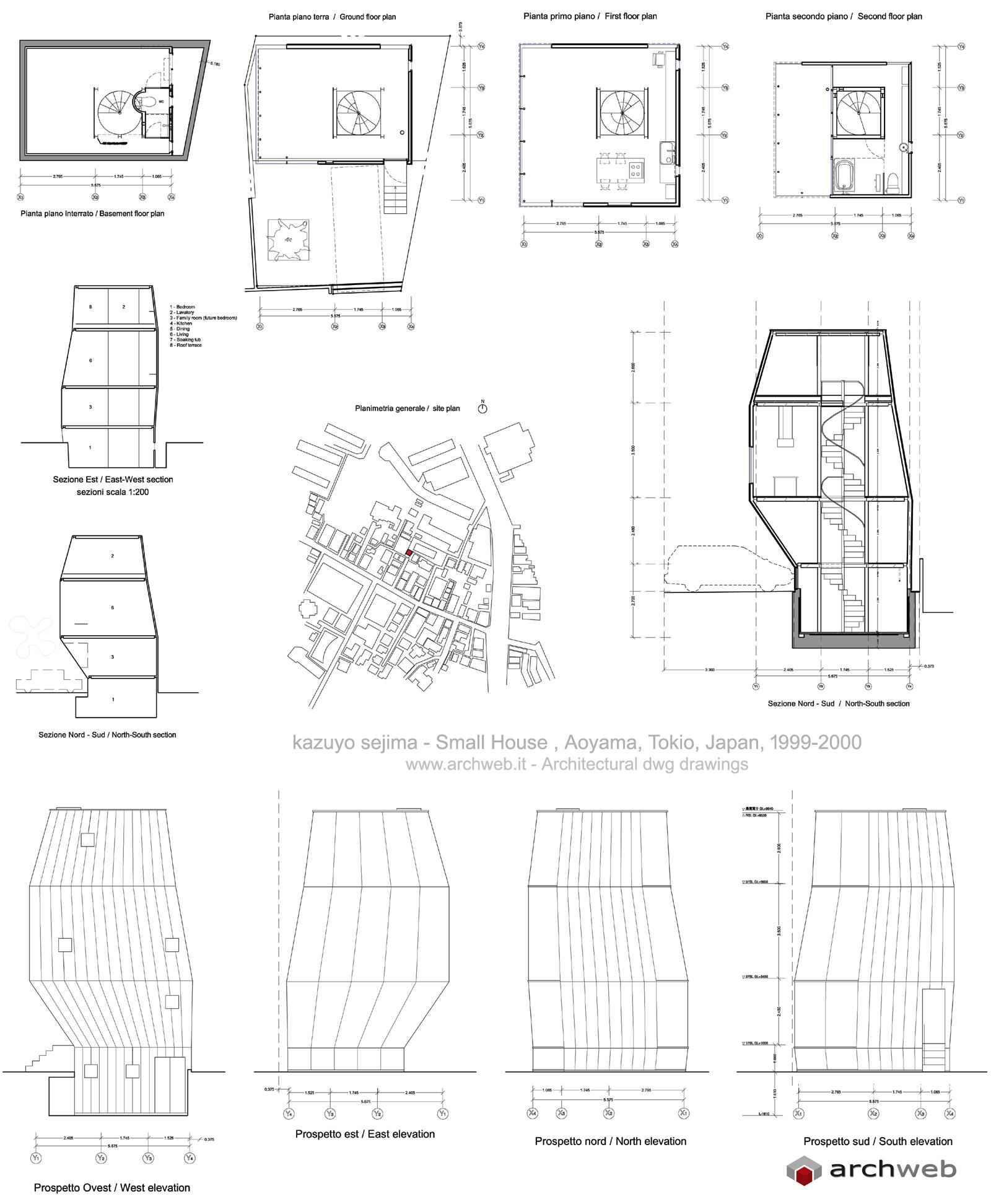 Small House Piccola Casa Kazuyo Sejima