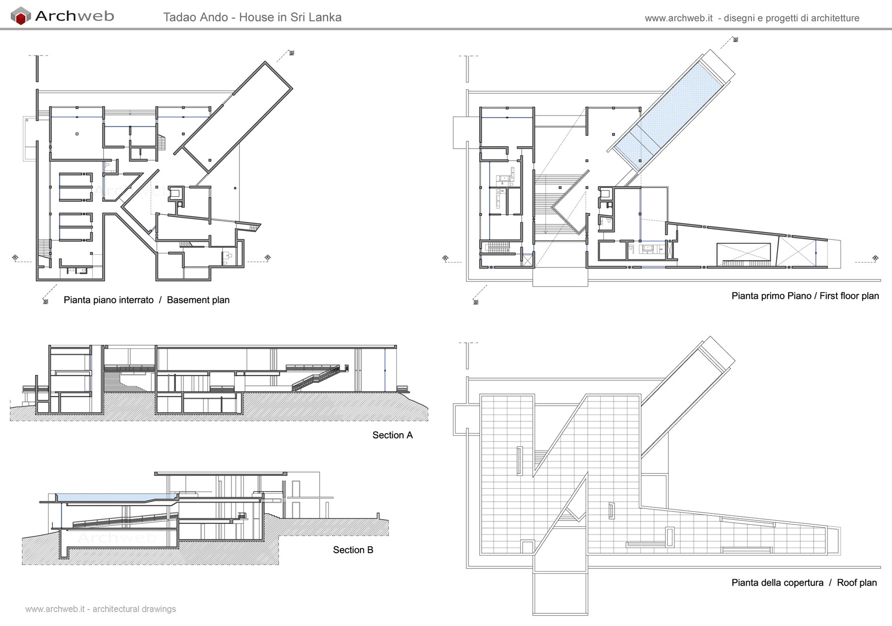 House In Sri Lanka Drawings Plan
