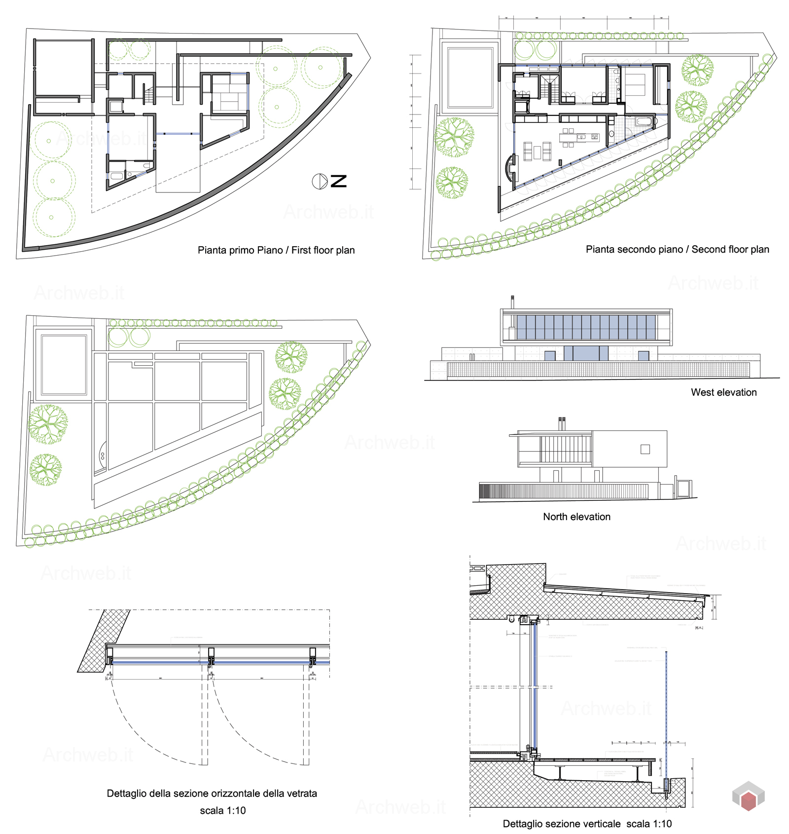 Drawing Floor Plans House In Shiga Tadao Ando Drawings Plan