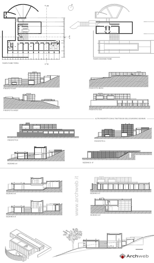 Plan Of Koshino House Home Design And Style