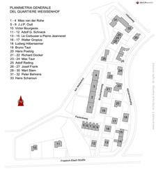 Weissenhof plan stoccarda germania 1927 for Arredi dwg gratis