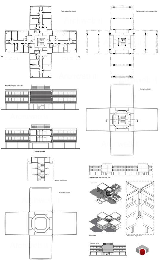 Villaggio olimpico palazzina tipo c for Villaggio olimpico