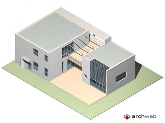Casa sul lago per un artista 3d model for Planimetrie della piccola casa sul lago