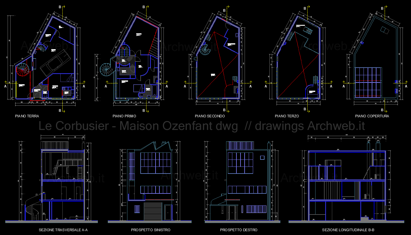 1000 images about cad dwg on pinterest 2d arches and for Archweb arredi