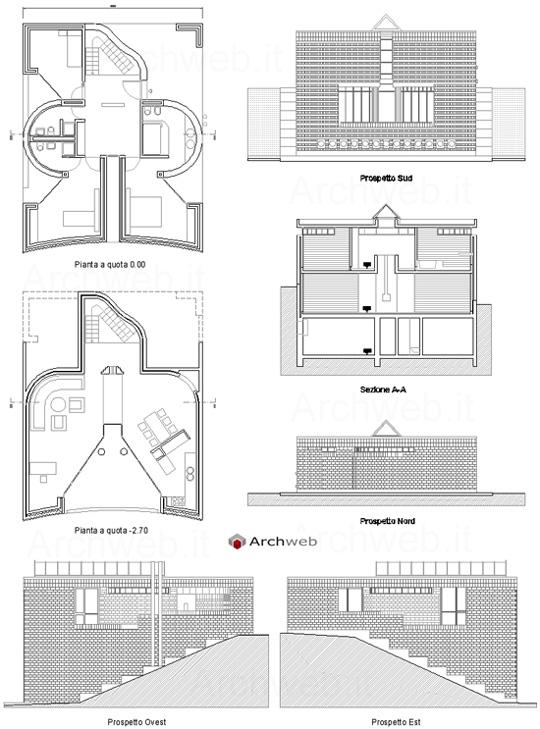 Casa unifamiliare a morbio superiore - Casa unifamiliare dwg ...
