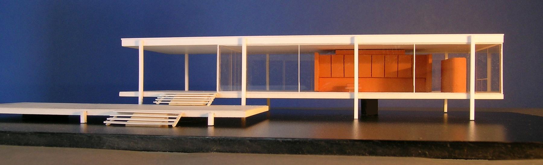 Il Plastico della Farnsworth house