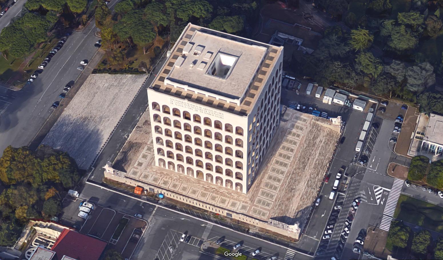 Palazzo della civilt italiana autocad dwg for Palazzo della civilta italiana fendi