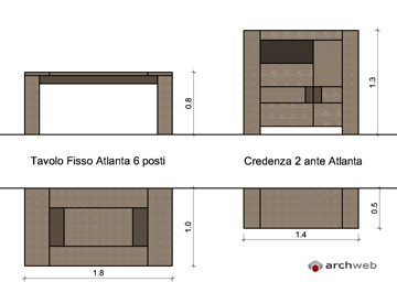 mobili per soggiorno componibile - disegni dwg - Arredo Soggiorno Moderno Dwg 2