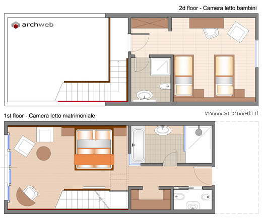 Soluzioni per una camera letto aggiuntiva - Soluzioni camere da letto piccole ...