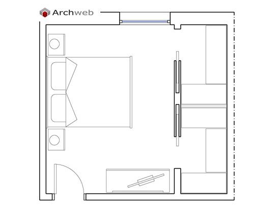 armadio cabina Camera da letto e IWEH2YeDb9
