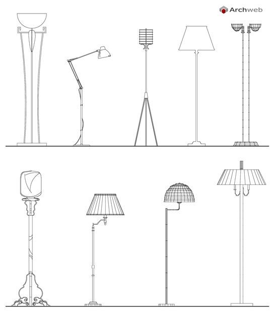 Lampade da terra - lampade con piantana