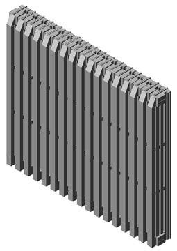 Radiatori 3d termosifoni dwg for Arredi 3ds