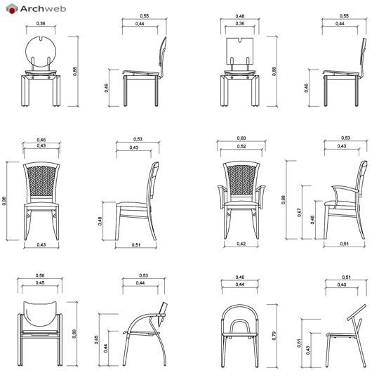 Sedie a sdraio dwg design casa creativa e mobili ispiratori - Letto dwg prospetto ...