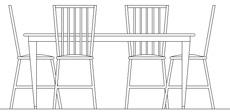 Tavoli in prospetto dwg for Sedie ufficio dwg