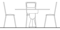 Tavolini bar dwg prospetto infissi del bagno in bagno for Arredo bar dwg