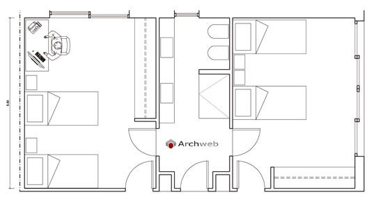 Camere Da Letto Dwg - Idee Per La Casa - Douglasfalls.com