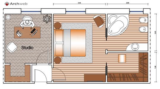 idees camera letto » letti dwg - galleria design di interni della ... - Camera Da Letto Dwg
