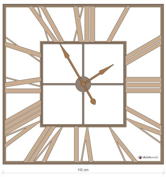 Orologio da parete in ferro dwg for Parete attrezzata dwg