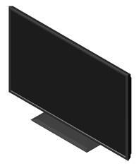 TV 3d - televisori in cad 3d