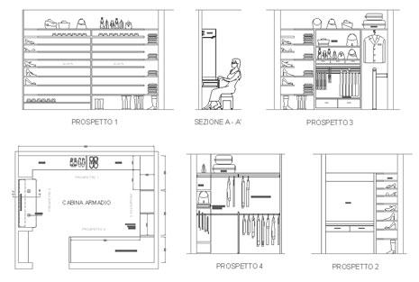 Casa immobiliare accessori arredi per cabine armadio - Misure cabine armadio ...