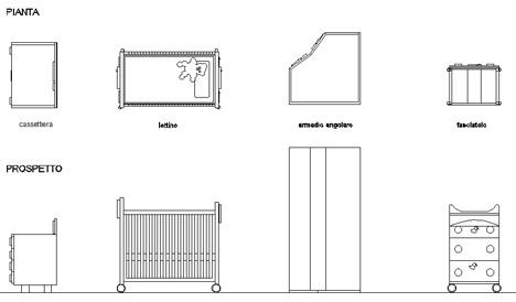 Arredi Interni Dwg ~ Ispirazione Design Casa