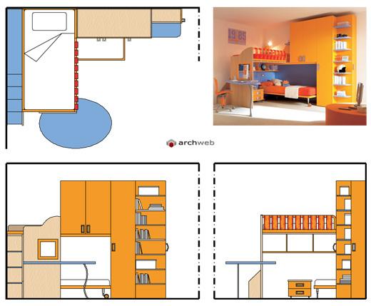 Divani Angolo Dwg ~ Idee per il design della casa