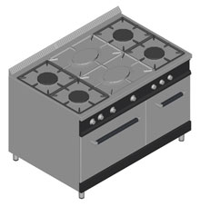 Cucine componenti 3d cucine dwg - Cucine ad angolo dwg ...