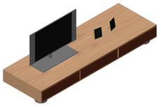 Archweb tv 2d infissi del bagno in bagno for Mobile tv dwg