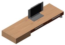 Pareti attrezzate 3d mobili per soggiorno dwg for Mobile tv dwg