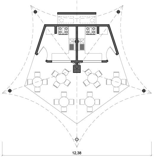 Tende tensostrutture spazi coperti for Arredo giardino dwg