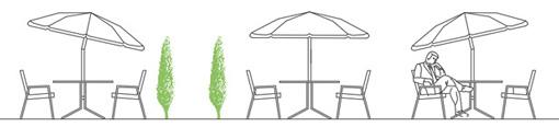 Sdraio lettini dwg deckchair dwg for Arredo giardino dwg