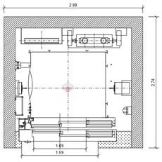 Ascensori Elevator Dwg Autocad