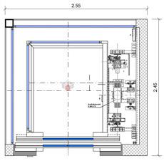 Ascensori elevator dwg autocad for Ascensore dimensioni