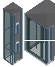 Ascensori panoramici dwg ascensori vetro dwg elevator dwg for Porte archweb