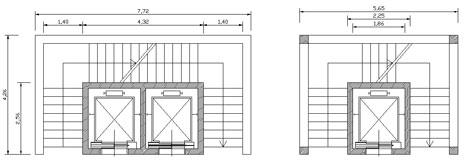 Collegamenti verticali dwg elevator dwg for Archweb uffici