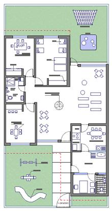 Asili nido - scuole materne disegni dwg