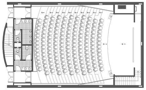 Dimensioni Sala Conferenze 100 Posti.Auditorium 2 Dwg